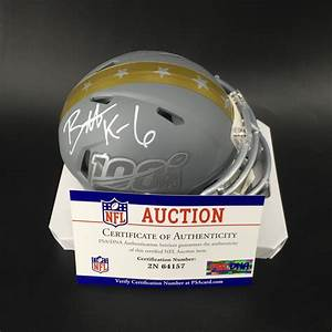 NFL Auction   NFL - Titans Brett Kern Signed Pro Bowl 2020 ...