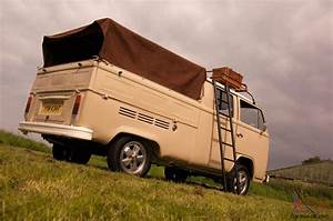 Vw 1979 T2 Crew Cab Camper Van Double Cab Pick Up