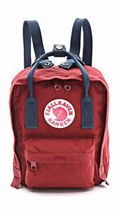 lyst fjallraven kanken mini backpack in