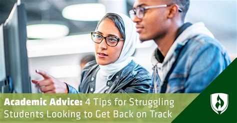 Academic Advice: 4 Tips for Struggling Students ...