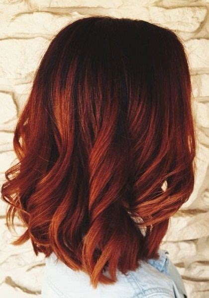 ombre rot schwarz best 25 balayage ideas on brown hair fall hair color for