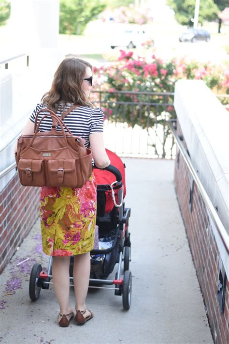 lily jade elizabeth diaper bag review feathers   nest