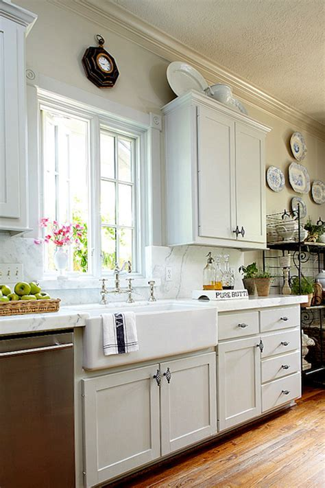 French Kitchen Farmhouse Sink Design Ideas