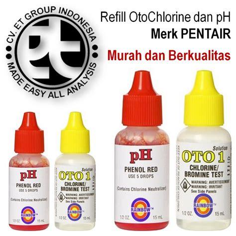 jual refill oto chlorine dan phenol murah merk