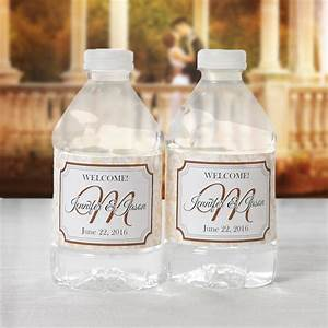 100 wedding water bottle labels wedding water labels for How to put labels on bottles
