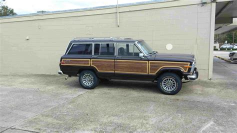 1989 jeep wagoneer interior 1989 jeep grand wagoneer pictures cargurus