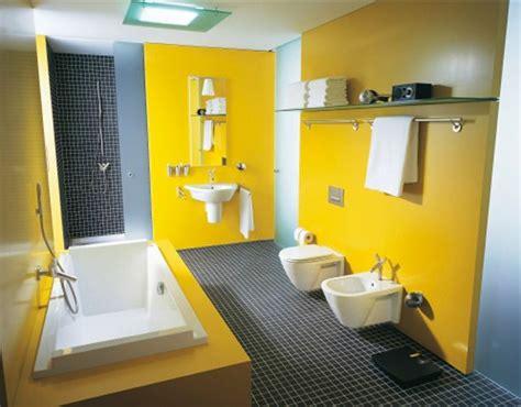 salle de l origine salle de bains jaunes 32 id 233 es pour une d 233 coration lumineuse