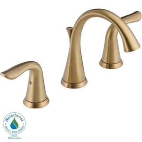 Lahara Faucet Home Depot by Delta Lahara 8 In Widespread 2 Handle High Arc Bathroom