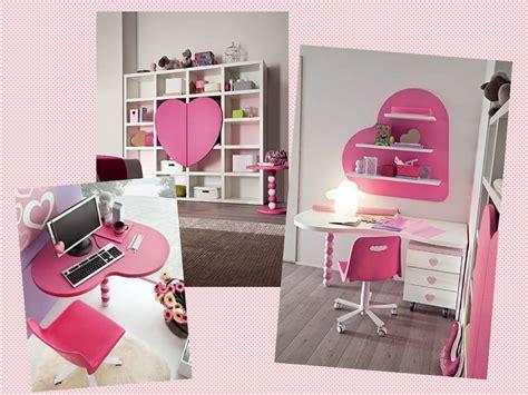 scrivania bambina libreria e scrivania cuore per bambina