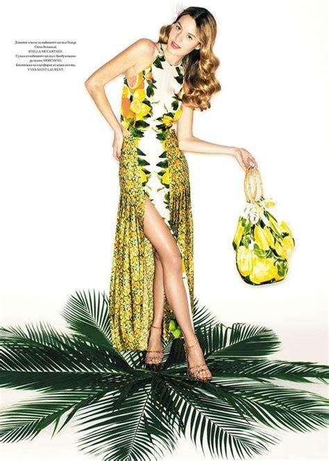 fruity fashion editorials camille rowe  officiel ukraine