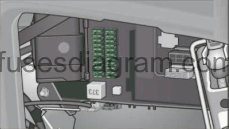 2007 Audi A6 Fuse Box Diagram by Fuse Box Audi A6 C6