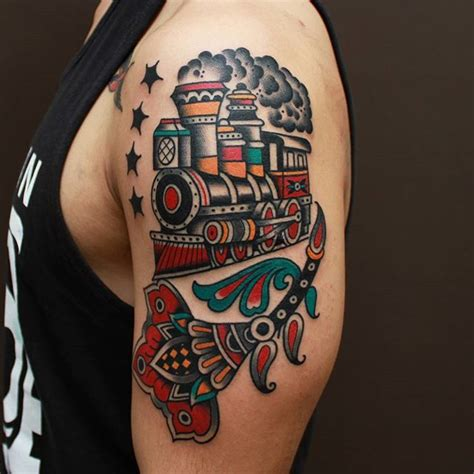 train tattoos designs ideas  meaning tattoos