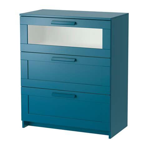 meuble cuisine ikea profondeur 40 brimnes commode 3 tiroirs vert bleu foncé verre givré