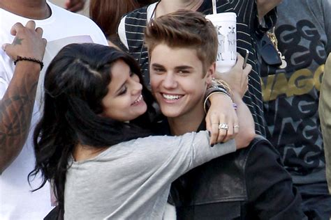 bloom backpack justin bieber and selena gomez cuddle in deleted picture