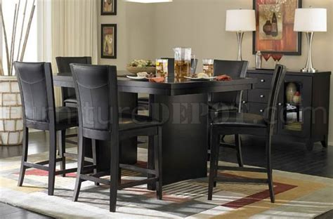 sq counter height dining table espresso woptions