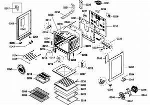Cabinet Assy Diagram  U0026 Parts List For Model Hes5053u01