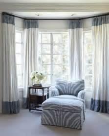 Colorblock border curtain panels