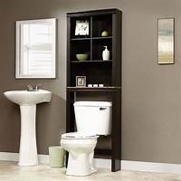 over the toilet storage cabinet Bathroom Cabinet Over Toilet Shelf Space Saver Storage Adjustable Shelves Towels | eBay