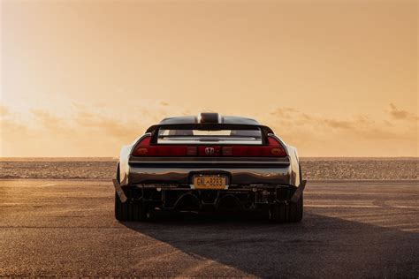 nsx rear view taillights hd image 9