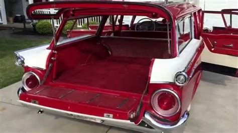 ford usa 1959 country sedan 4door station wagon the 1959 ford fairlane country sedan youtube