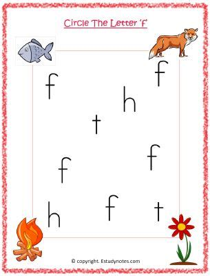 circle the letter f copy estudynotes