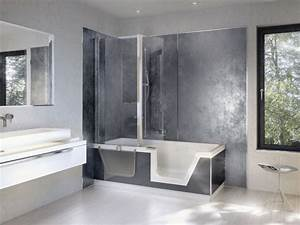Walk In Tubs And Showers With Regard To Bathroom