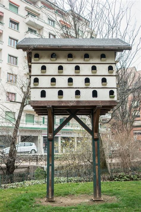 decorative pigeon house stock photo  hzparisienatgmail