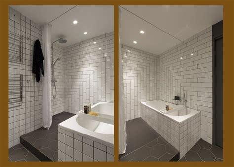 calepinage carrelage salle de bain am 233 nager une salle de bains galerie photos de dossier 27 268
