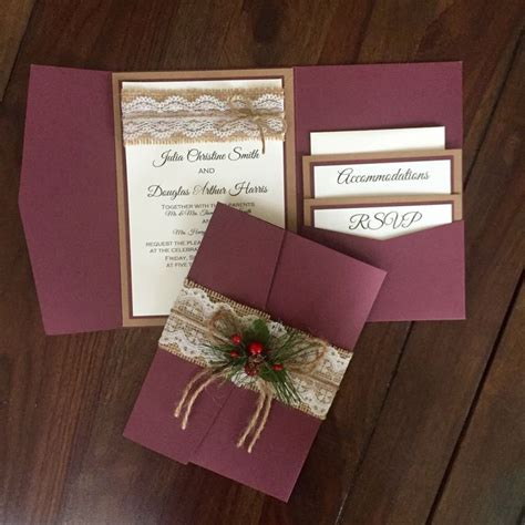 cheap shabby chic wedding invitations 61 best wedding invitations images on pinterest burlap weddings wedding invitation suite and