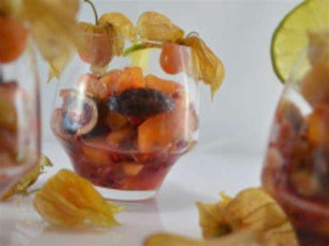 recettes de salade de fruits exotiques de cuisine maison