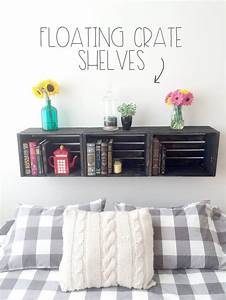 27, Best, Diy, Floating, Shelf, Ideas, And, Designs, For, 2017