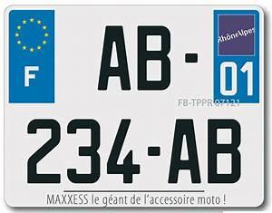 Plaque Immatriculation France : nouvelle plaque d 39 immatriculation pour moto et scooter le r seau maxxess france ~ Medecine-chirurgie-esthetiques.com Avis de Voitures