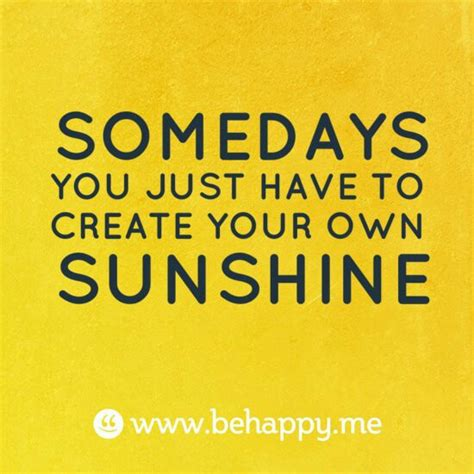 Smile Sunshine Quotes