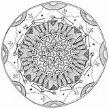 Colouring Coloring Today Pages Mandala Wednesday Min sketch template