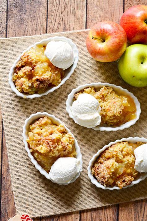 easy apple cobbler quick easy apple cobbler recipe 5 ingredient dessert