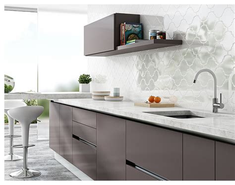 Modern Kitchen Backsplash Arabesque Wall Tiles