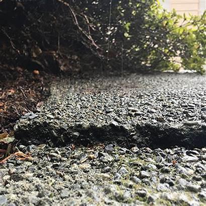 Slabjacking Concrete Slab Rigid Jacking Raising Before
