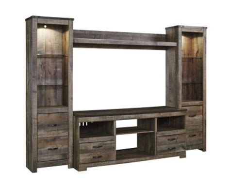 ashley trinell entertainment center homemakers furniture