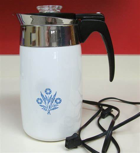 Find great deals on ebay for coffee pot antique electric. Corningware Electric Coffee Pot Percolator P80EP Ten Cup ...