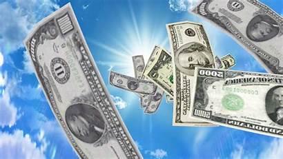 Money Falling 3d Desktop Wallpapers Background Pc