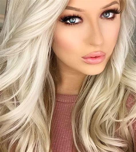 Makeup For Blue Eyes Blonde Hair You Mugeek Vidalondon