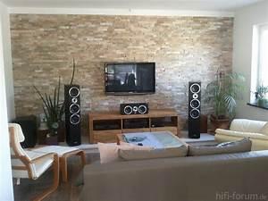 Wandgestaltung Mit Steinen : ambitious and combative steinwand wohnzimmer selber machen ~ Markanthonyermac.com Haus und Dekorationen