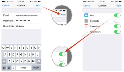 how do i add to my iphone how to set up microsoft outlook mail calendar contacts
