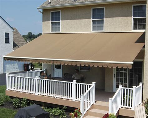 residential awnings rideout general contractors design install