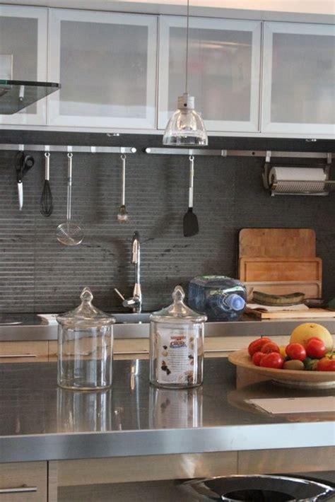 meuble cuisine en aluminium déco cuisine alu