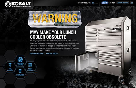 kobalt tool boxes images