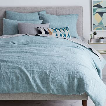 Best Linen Bedcovers by Belgian Flax Linen Fiber Dyed Duvet Cover Shams Light
