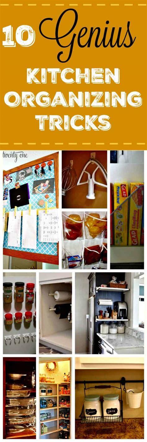 Kitchen Organizing Tricks kitchen organization tips 10 genius tricks