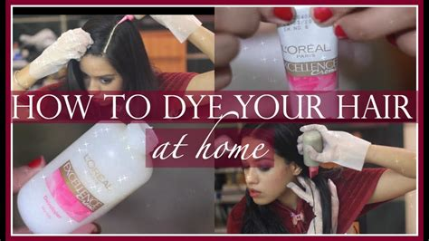 How To Dye Your Hair At Home Ft Loreal Excellence Creme