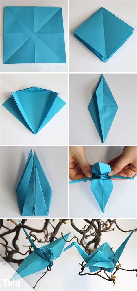 origami kranich anleitung die besten 25 kranich falten ideen auf origami kranich papierkraniche und kirigami